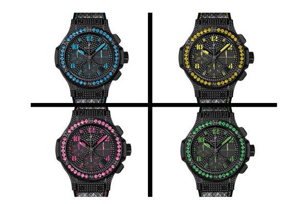Швейцарские часы Big Bang Black Fluo от компании Hublot