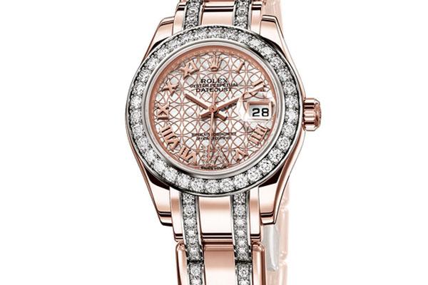 Швейцарские часы Lady-Datejust Perlmaster