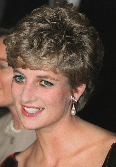 Принцесса Диана в 1992 году