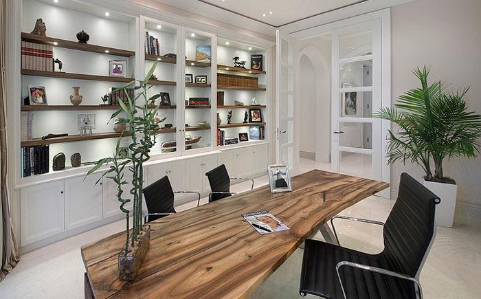 Комнатные растения в домашнем офисе