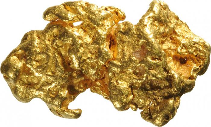 4 кг золотого самородка
