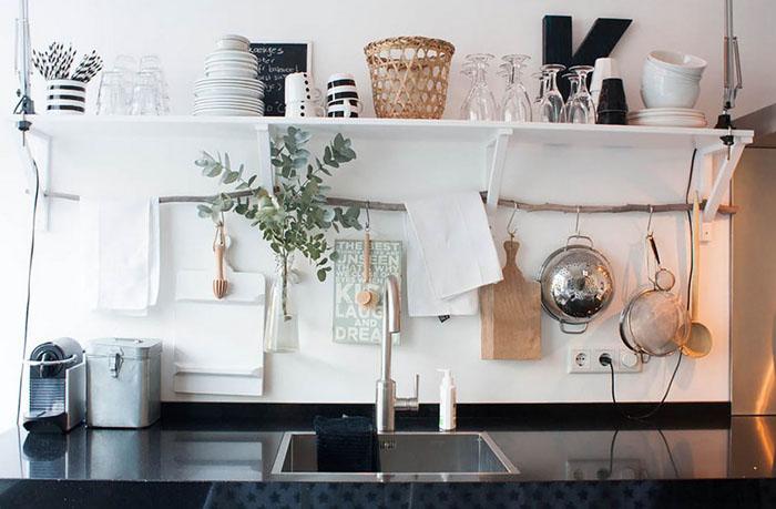 Интерьер кухни от Louise de Miranda