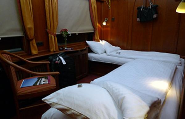 «Danube»: спальные места