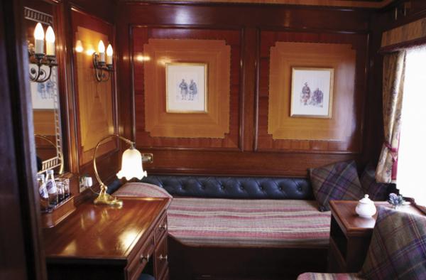 Поезд «Royal Scotsman»: спальные места