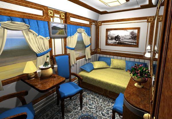 Поезд «Золотой орёл»: купе