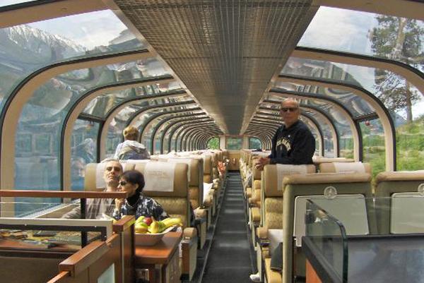 Поезд «Rocky Mountaineer»: второй этаж