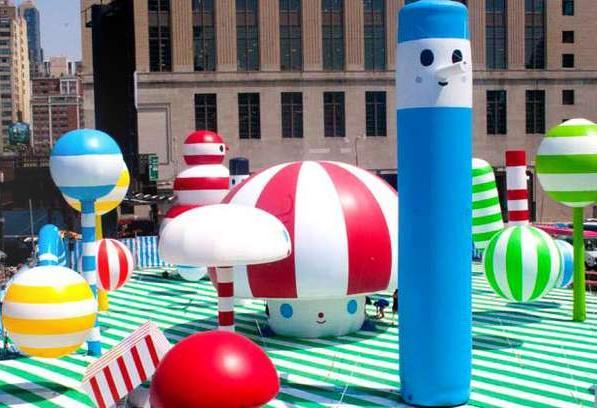 Игровая площадка Райский городок в Нью-Йорке