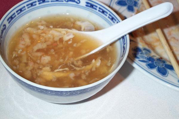 Суп из птичьих гнезд