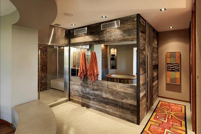 Интерьер ванной от Birdseye Design