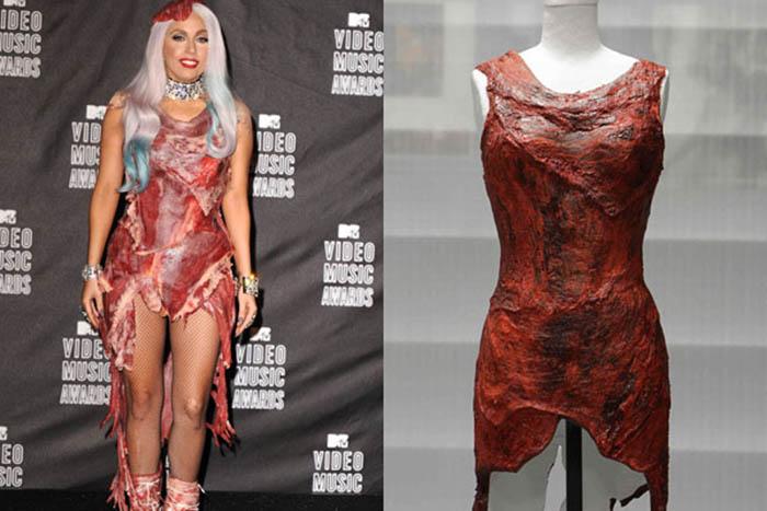 Мясное платье Леди Гаги