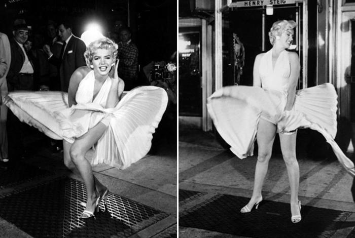 Белое платье Мэрилин Монро