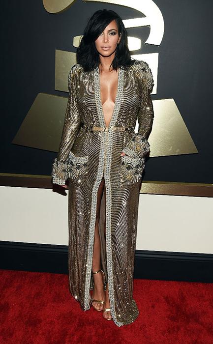 Ким Кардашян -  Grammy Awards 2015