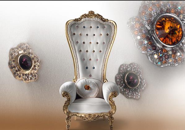 Царский трон от итальянской фирмы caspani
