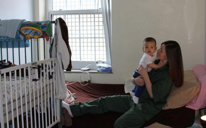 Дети в тюрьме в Бедфорд Хилс