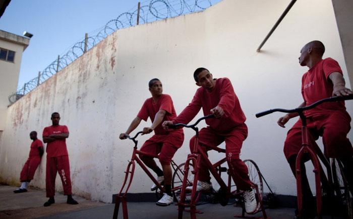 'Велосипедная электростанция' в Санта-Рита-ду-Сапукаи