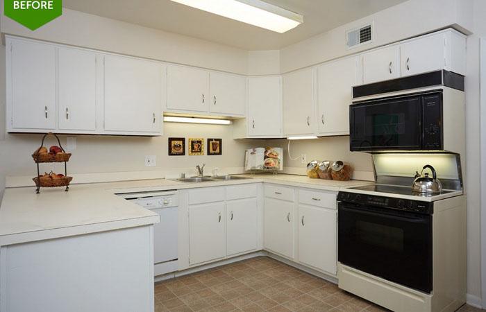 Кухня до реконструкции