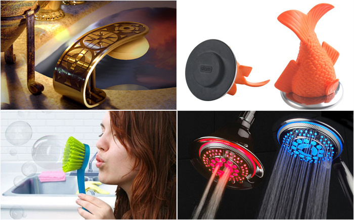 20 most creative accessories for the bath and toilet