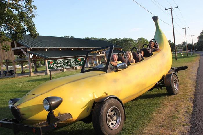 Банановый автомобиль