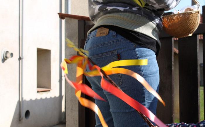 Ритуальная порка розгами девушек на Пасху – Чехия