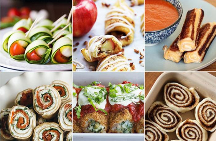 Готовим с фантазией: рецепты привычных блюд  в виде рулетов