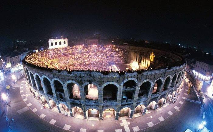 4 древних римских амфитеатра