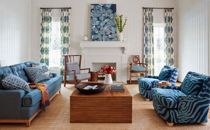 Интерьер гостиной от Andrew Howard Interior Design