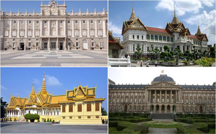10 самых потрясающих королевских официальных резиденций в мире