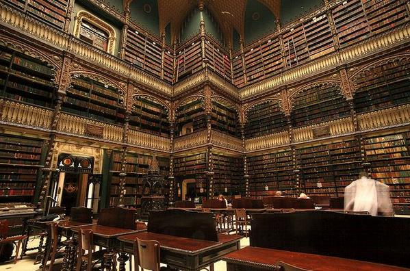Королевский португальский читальный зал, Рио-де-Жанейро, Бразилия