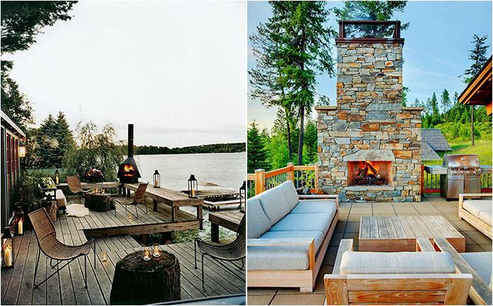 25 самых потрясающих деревянных террас в рустикальном стиле