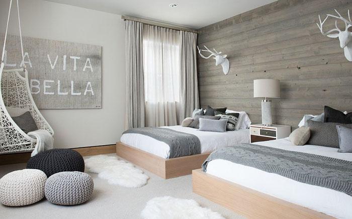 Интерьер спальни в скандинавском стиле от Reed Design Group