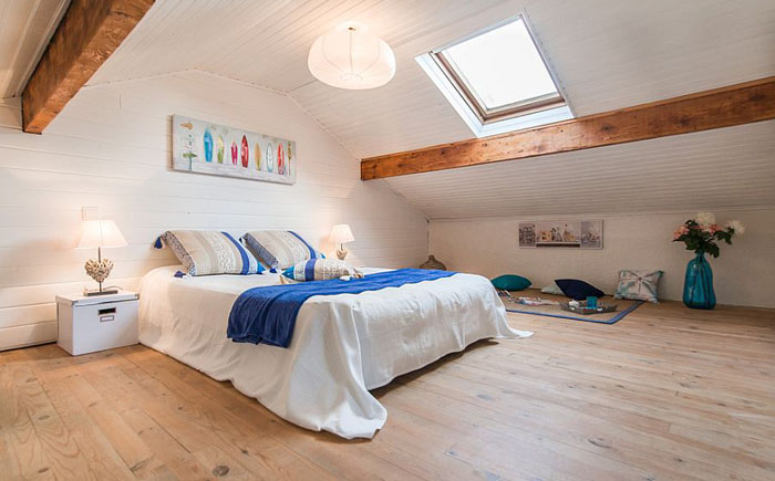 Спальня в скандинавском стиле от  Katia Janowski