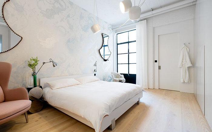 Элегантная спальня в пастельных тонах от Cloud Studios