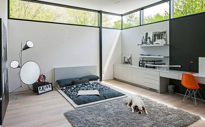 Спальня для любителей минимализма
