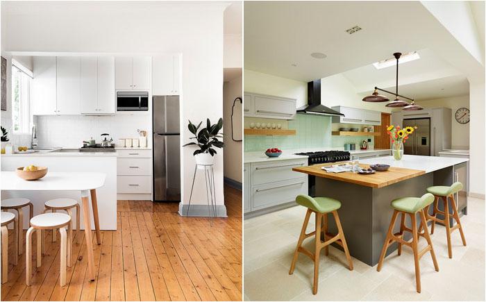 Дизайн кухни в скандинавском стиле 2017 современные идеи