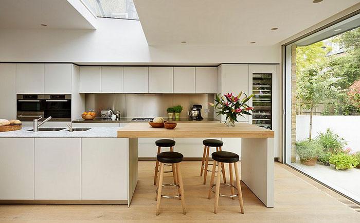 Интерьер кухни в скадинавском стиле от Kitchen Architecture