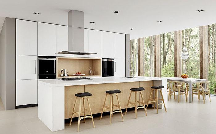 Современный минимализм от Dan Kitchens Australia