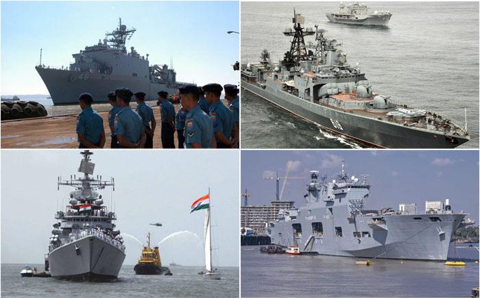 Морские гиганты: 15 самых больших военно-морских флотов в мире