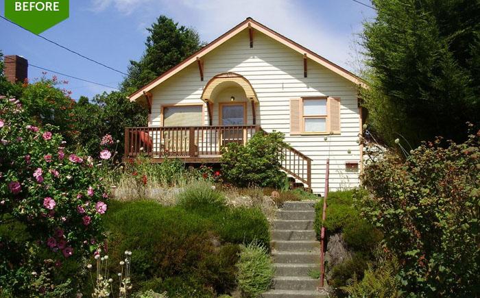 Дом в Сиэтле до переезда новых жильцов
