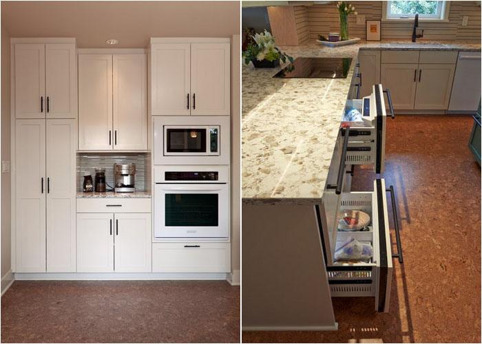 Максимум места для хранения кухонной утвари