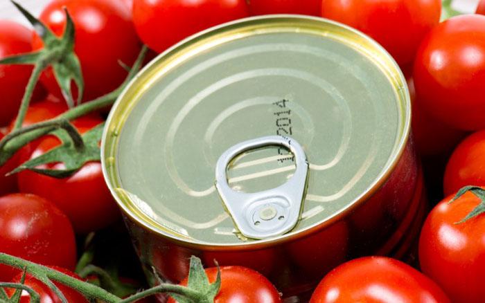 Консервированные помидоры – яйца и личинки мух