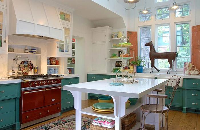 Интерьер кухни от Alison Kandler Interior Design