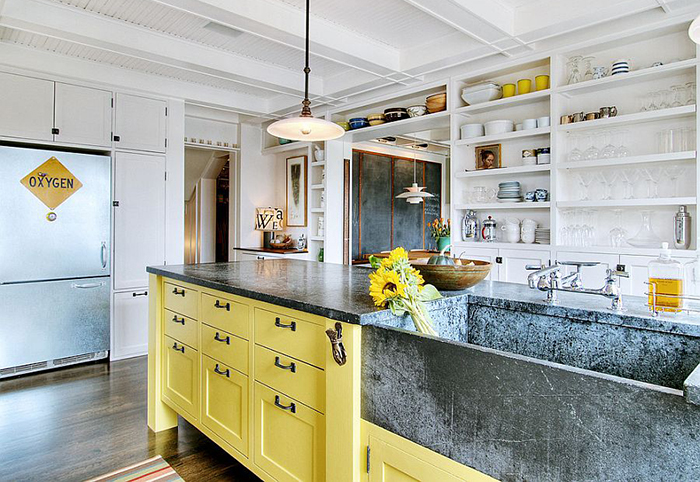 Интерьер кухни от J.A.S. Design-Build