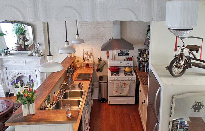 Маленькая и функциональная кухня