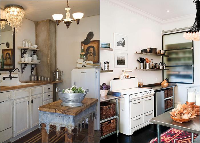 50 роскошных кухонь в стиле потёртого шика от лучших дизайнеров мира