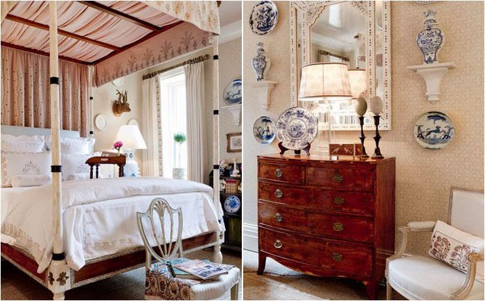 Спальня от Cathy Kincaid Interiors