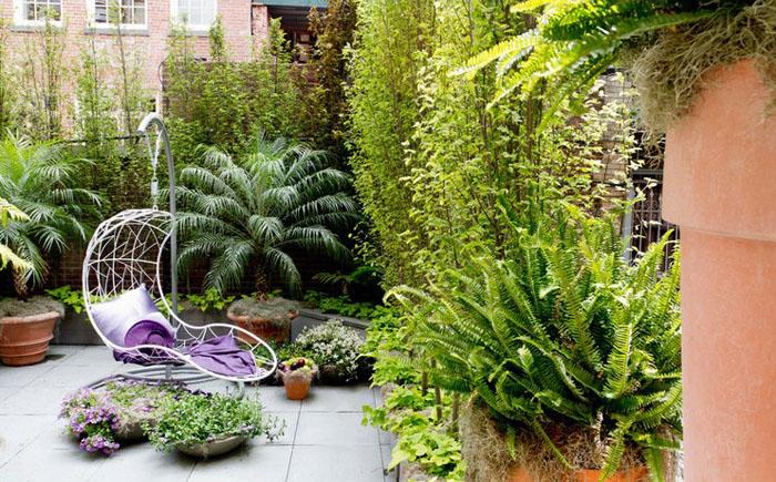 Терраса от Janice Parker Landscape Architects