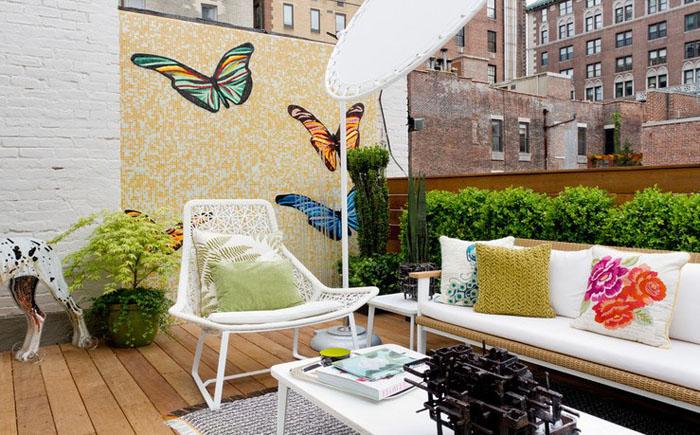 Терраса на крыше от Rottet Studio