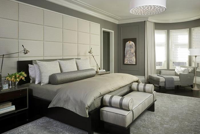 Интерьер спальни от Michael Abrams