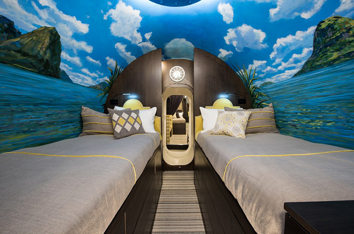 Спальня в контейнере