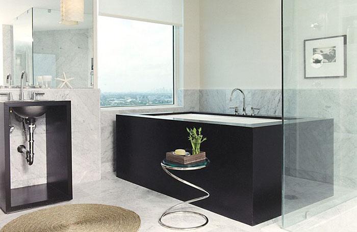 Интерьер ванной от  Thom Filicia